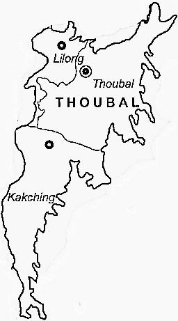 Geography of Thoubal