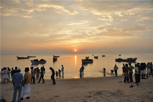Chavakkad Beach in Thrissur