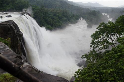 Waterfalls in Thrissur