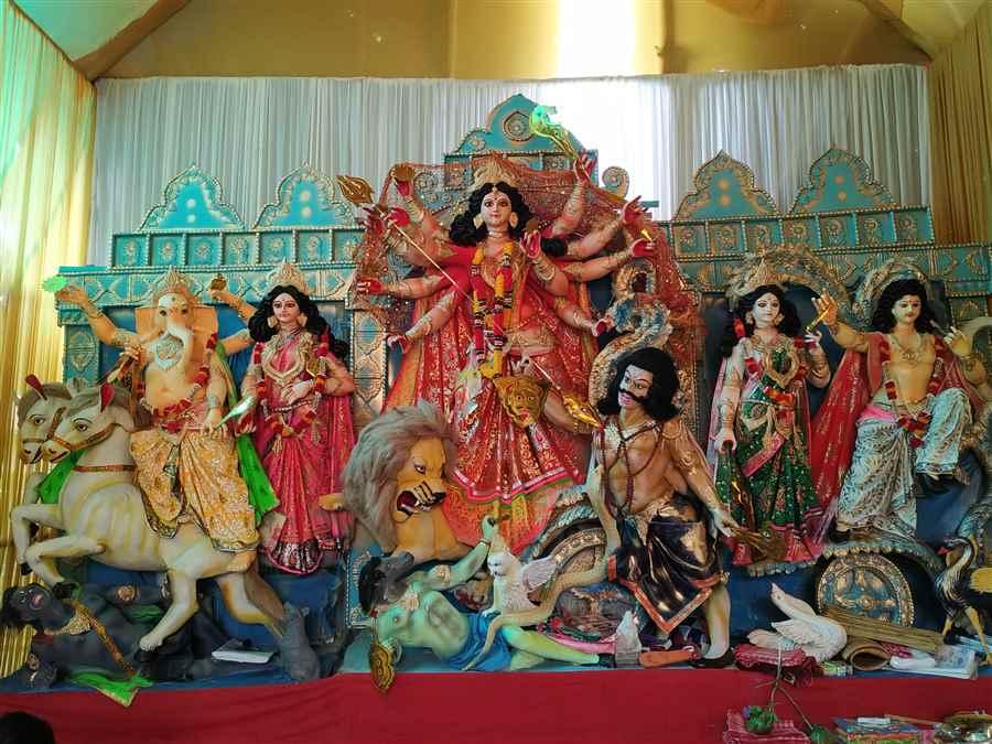 Puja  Committee in Makum
