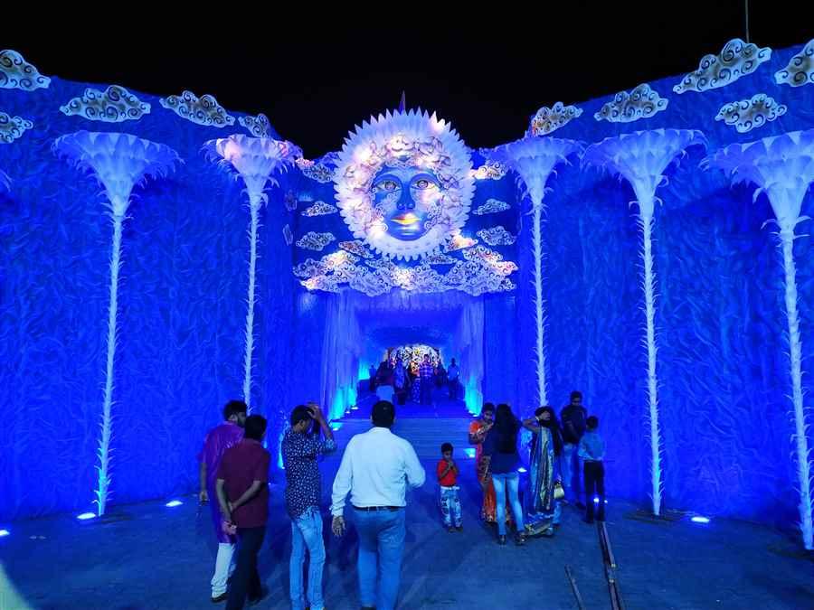 Durga Puja Committee Pandal