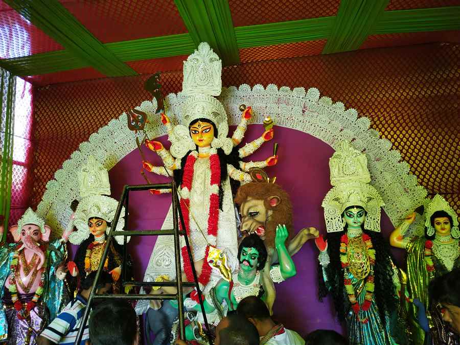 Gellaphukri Road Durga Puja