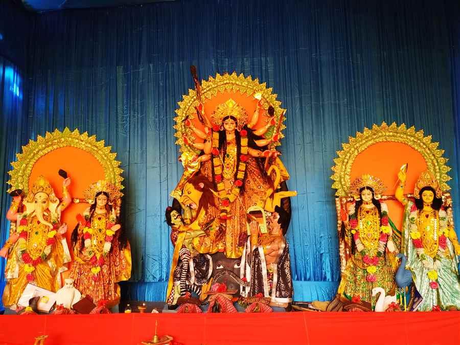 Durga Puja in Makum
