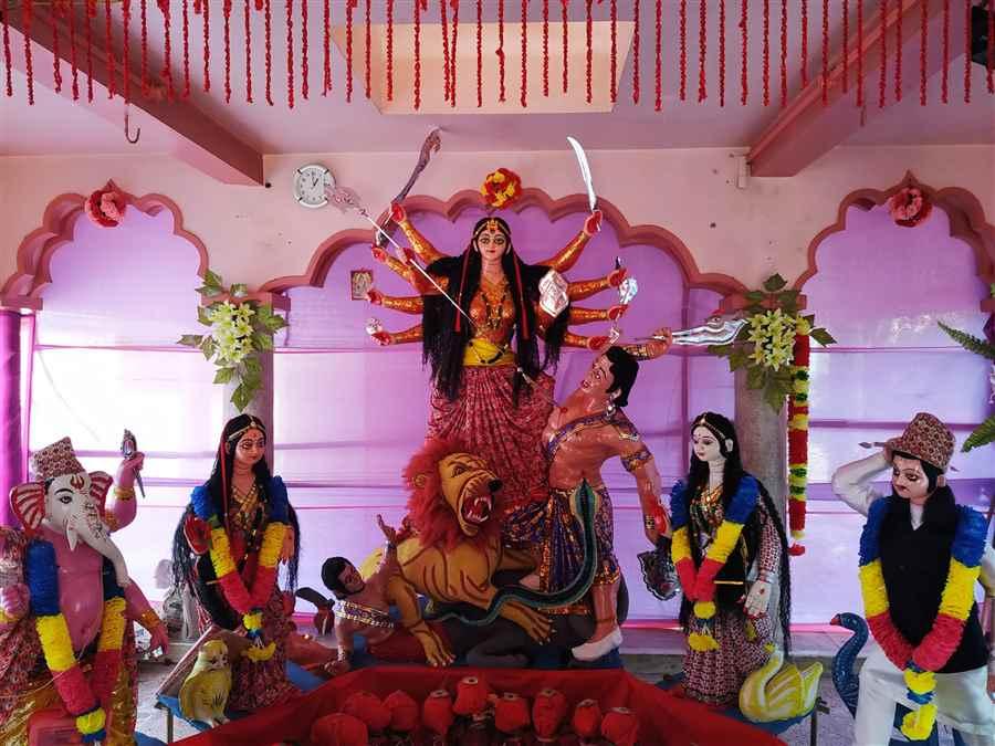 Durga Puja in Udyog Nagar
