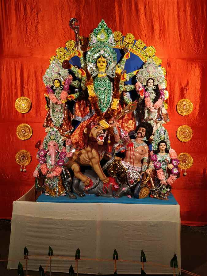 Puja Pandals in West Sripuria