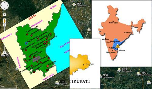 Geography of Tirupati