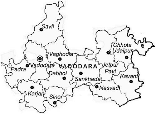 Geographical Conditions in Vadodara