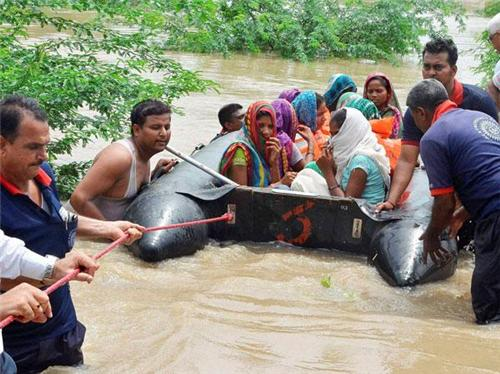 Flood at Vadodara