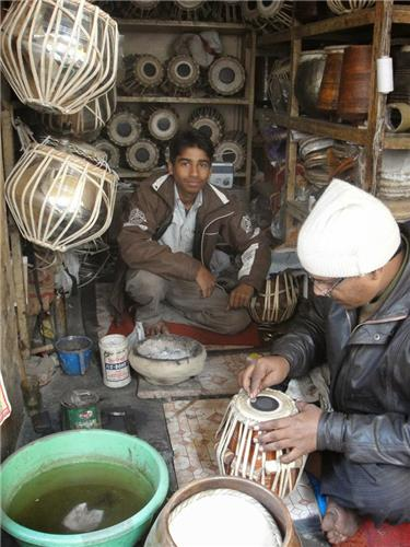 Making of Musical Instruments in Varanasi