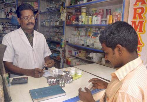 Chemists in Vidisha