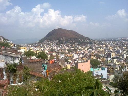View from Sri Subramanya Swamy Temple in Vijayawada