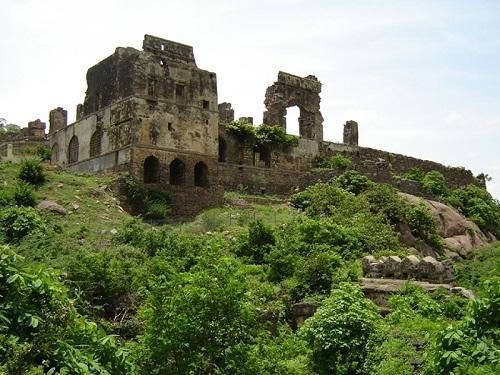 View of Kondapalli fort