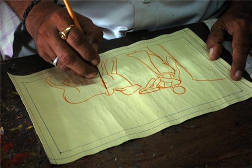 Cherial Paintings Warangal