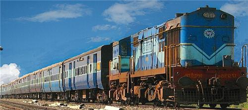 Trains passing through Yamunanagar