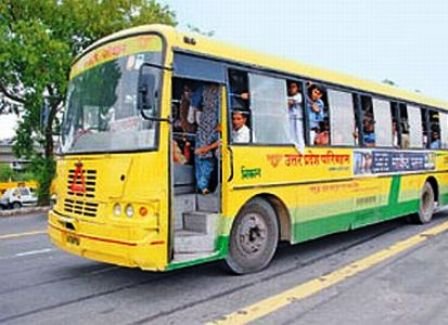 Bus service in Agra