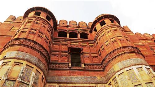 Agra Fort Near Taj Mahal