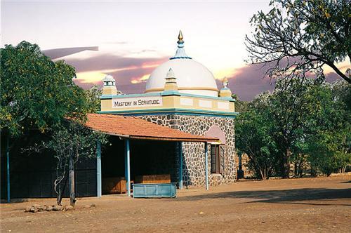 Meher Baba Tomb