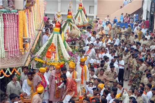 Festivals Celebrated at Jagannath Temple in Ahmedabad