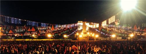 Garba in Ahmedabad