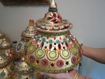 The Garba Lamp - Deep