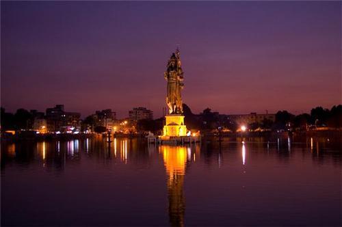 Famous Lake near Ahmedabad