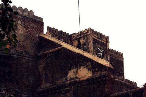 The Clock Tower in Bhadra Fort