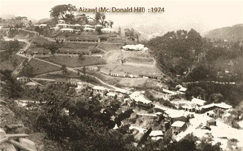 History of Aizawl