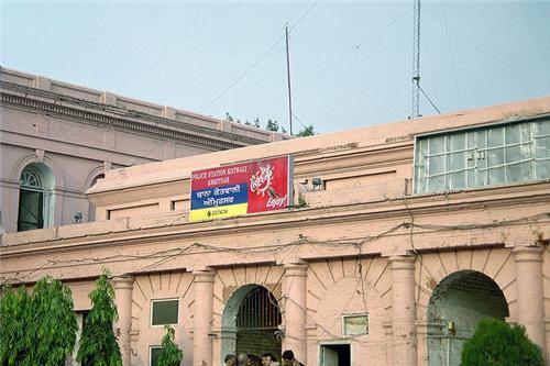 Police in Amritsar