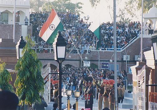 Wagah Border in Amritsar