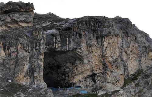 The Holy Caves of Amarnath