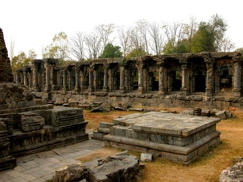 Sun temple in Anantnag at Kashmir valley