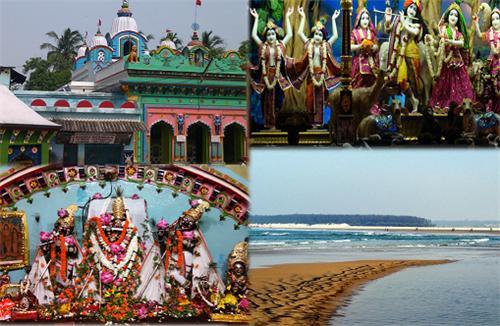 The Khirachora Gopinath Shrine at Balasore