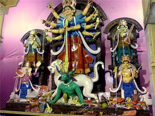 Themed Durga Puja in Balurghat