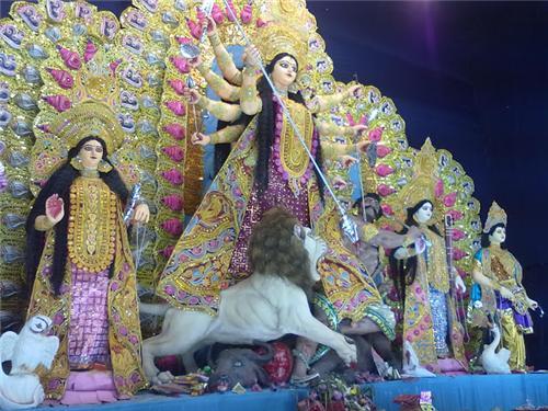 Durga Puja in Balurghat
