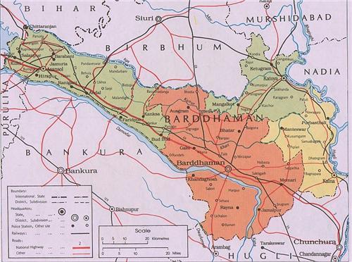 Geography of Bardhaman