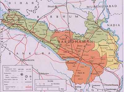Geography of Bardhaman