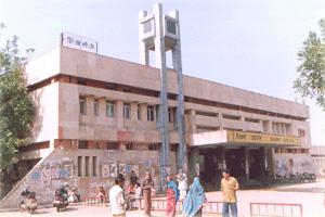 Railway Station at Bhiwani