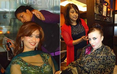 Beauticians in Bhopal