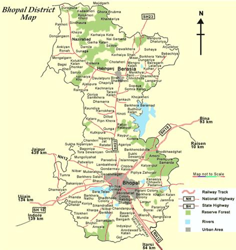 Geography of Bhopal