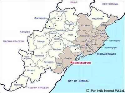 Bhubaneswar Political Map
