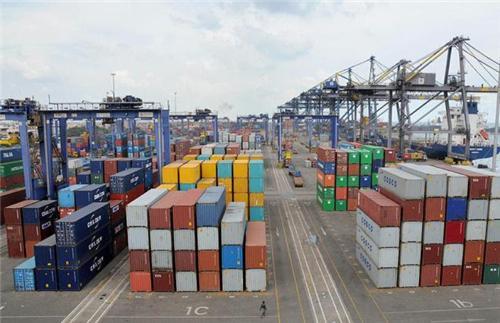 Terminals at Chennai Port