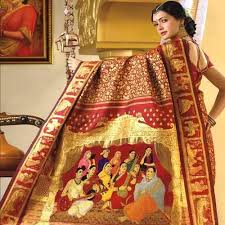 Kanchipuram silk saree of Chennai