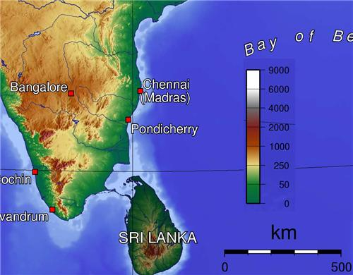 Geography and Climate of Chennai
