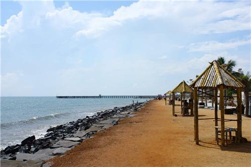 Pondicherry Beaches near Chennai