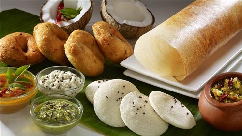 Palette of famous food of Chennai