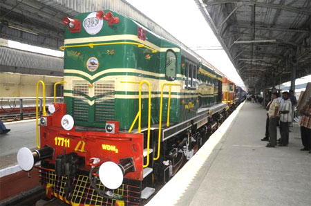 Railway Transportation in Chennai