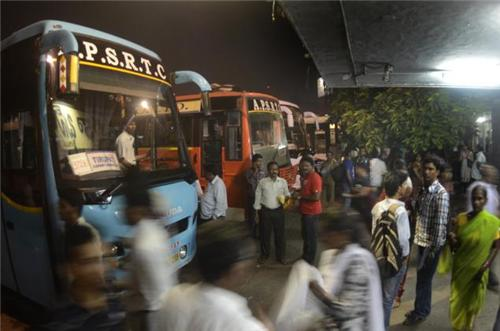 Buses in Cuddapah