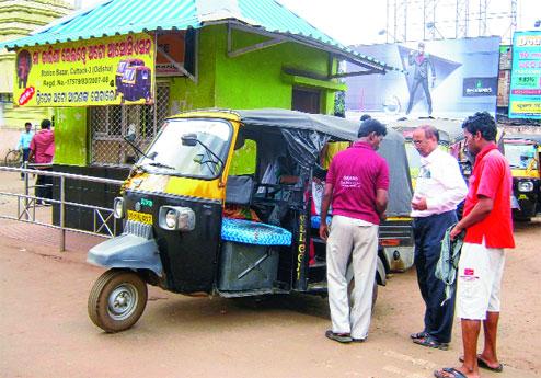 Local Transport in Cuttack