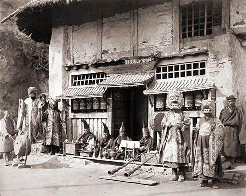 An Old Settlement in Darjeeling
