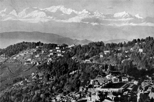 Darjeeling Town in 1941
